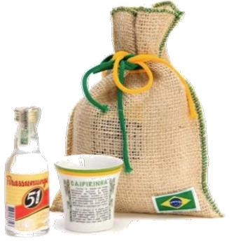 brindes e lembrancinhas kit cachaça