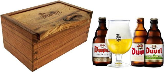 brindes e lembrancinhas kit cerveja duvel