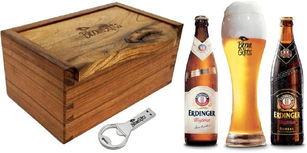 brindes e lembrancinhas kit cerveja erdinger