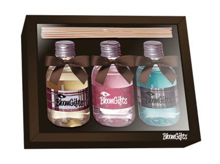 brindes e lembrancinhas trio aromatizadores