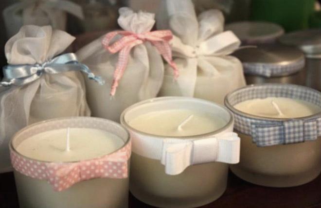 brindes e lembrancinhas vela perfumada