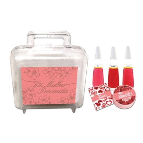 brindes e lembrancinhas kit mulher prevenida